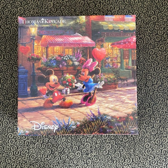 A Mickey and Minnie puzzle